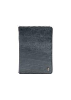 Frye Austin Slim Leather Passport Wallet
