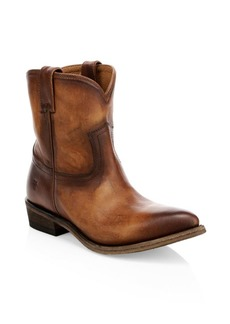 Frye Billy Short Leather Boots