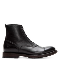 Frye Bowery Bal Leather Boots