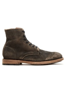 Frye Bowery Lace-Up Suede Boots