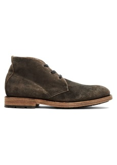 Frye Bowery Suede Chukka Boots