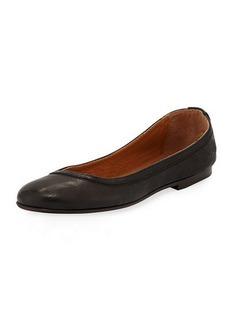 Frye Carson Leather Ballet Flats