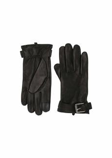 Frye Deerskin Buckle Gloves
