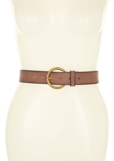 Frye Flat Leather Belt