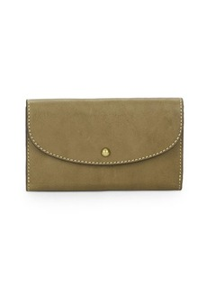 Frye Adeline Leather Clutch