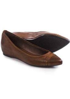 Frye Alicia Ballet Flats - Leather, Hidden Wedge Heel (For Women)