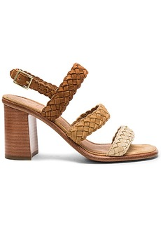 Frye Amy Braid Sandal in Tan. - size 10 (also in 8.5,9,9.5)