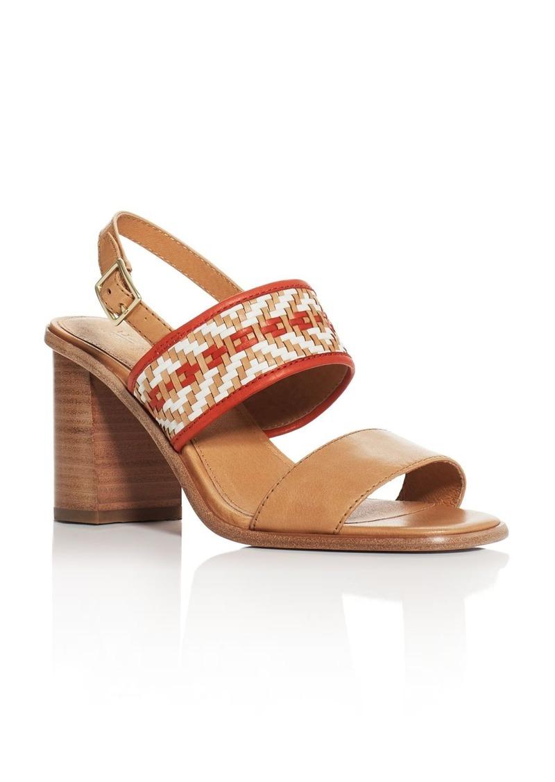 SandalsShoes Amy Block Woven Heel Frye kXiuOPZT