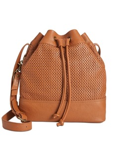 Frye and Co. Anise Perforated Leather Bucket Bag
