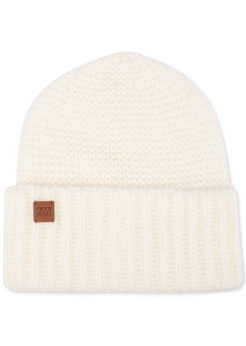 Frye and Co. Garter Stitch Beanie Hat