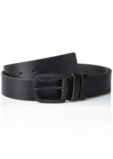 Frye and Co. Men's Double Keeper Leather Belt black