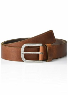 Frye and Co. Men's Heat Pressed Edge Leather Belt