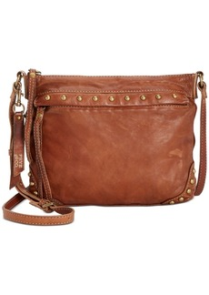 Frye and Co. Odessa Studded Washed Leather Crossbody