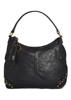 Frye and Co. Odessa Studded Washed Leather Hobo