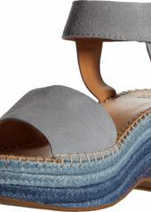 Frye and Co. Women's Amber Espadrille Wedge Sandal   M US