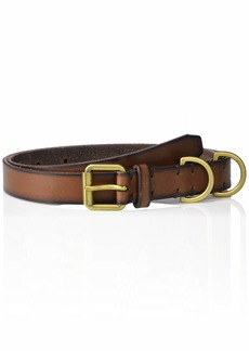 Frye and Co. Women's D-Ring Loop Leather Belt  L