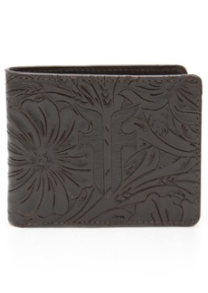 Frye Austin Embossed Leather Wallet
