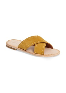 Frye Avery Pickstitch Slide Sandal (Women)