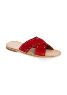 Frye Avery Pickstitch Slide Sandal (Women)