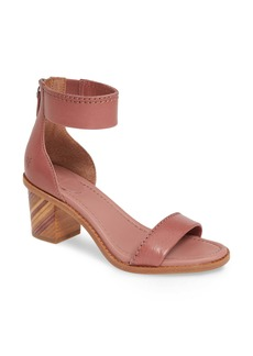 Frye Brielle Bias Stripe Heel Sandal (Women)
