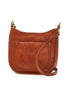 Frye Campus Rivet Leather Crossbody Bag