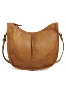 Frye Cara Leather Saddle Bag