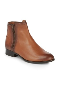 Frye Carly Double Zip Leather Boots