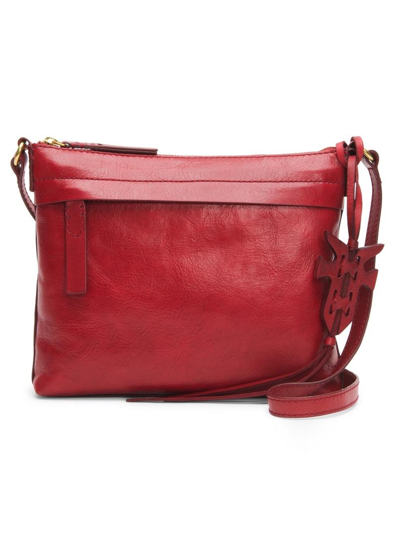 dd92d7953e297f Frye Frye Carson Leather Crossbody Bag Now $138.60