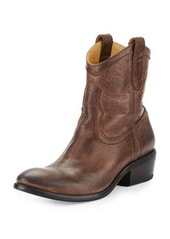 Frye Carson Leather Shortie Boot