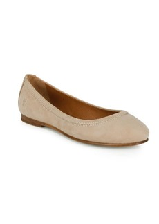 Frye Carson Suede Ballet Flats