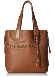 FRYE Carson Whipstitch Leather Tote Bag caramel
