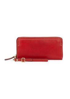 Frye Casey Leather Wristlet