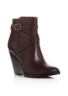 Frye Cece Jodhpur Wedge Booties