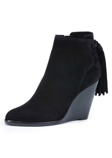 "Frye® ""Cece Tassel Lace"" Wedge Booties"