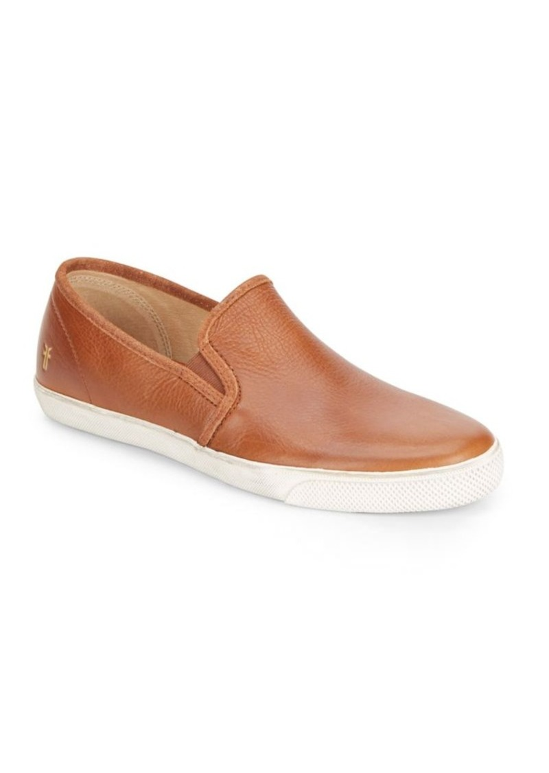 Frye Chambers Leather Slip-On Sneakers