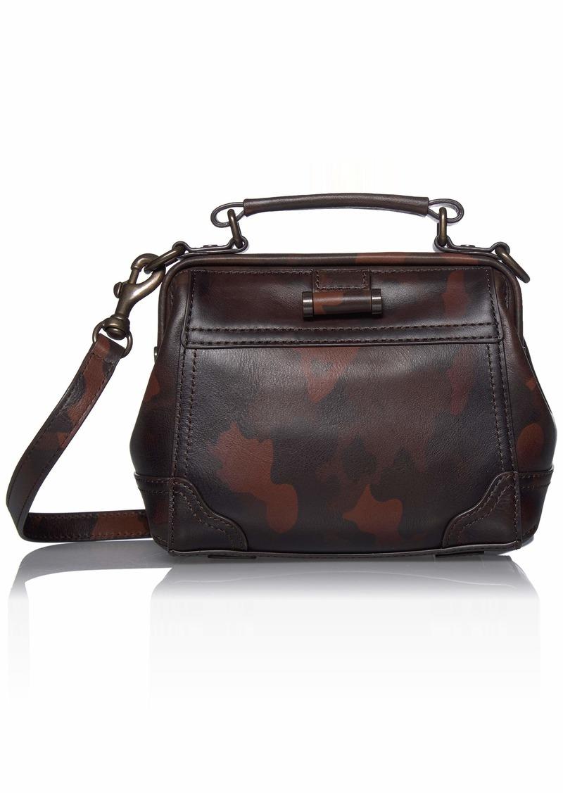 FRYE Charlie Frame Satchel Crossbody Bag