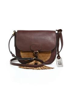 Frye Clara Leather & Suede Saddle Bag