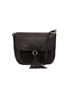 Frye Clara Leather Saddle Bag