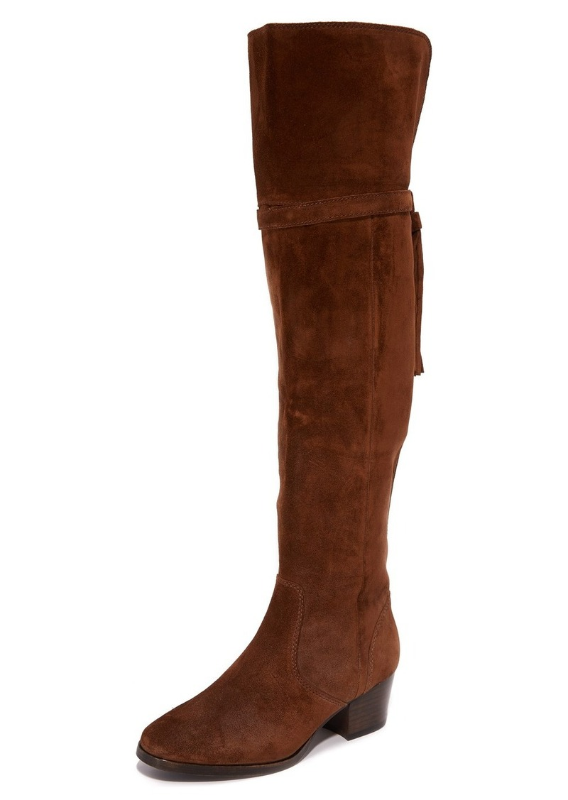 74858be58ed Frye Frye Clara Tassel Over the Knee Boots Now  164.40
