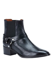 Frye Dara Leather Harness Ankle Boots