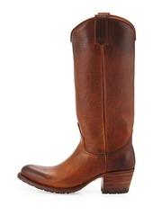 Frye Deborah Burnished Leather Tall Boot