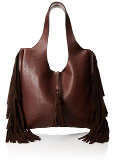 FRYE Farrah Fringe Shoulder Bag