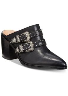 Frye Flynn Belted Mules Women's Shoes