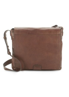 Frye Foldover Leather Crossbody Bag