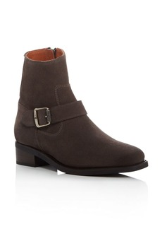 Frye Hannah Engineer Square Toe Booties