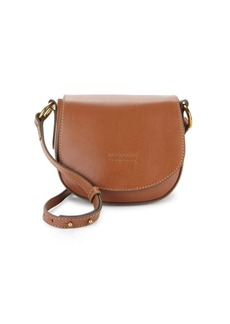 Frye Harness Small Leather Saddle Bag