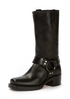 Frye Heirloom Harness Tall Crinkled Boot