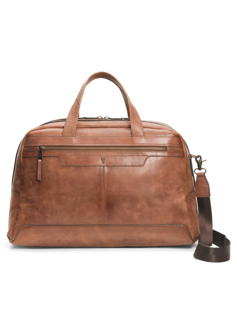 Frye Holden Leather Duffle Bag