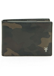 Frye Holden Leather Passcase Wallet