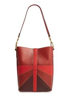 Frye Ilana Colorblock Leather Bucket Hobo